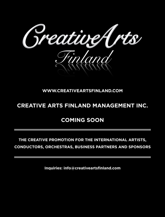 Creative Arts Finland Management - Musical America Worldwide Edition 2013